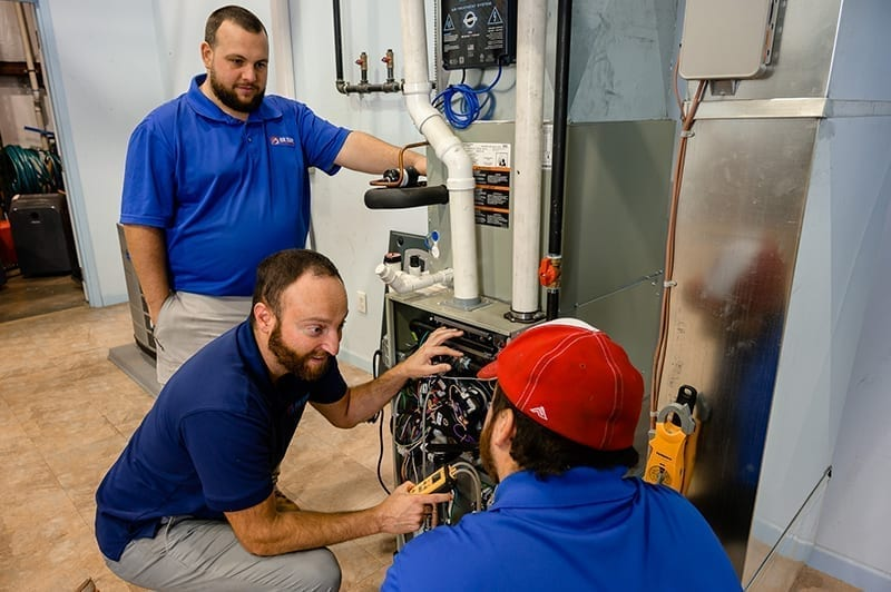 Highly trained heating repair technicians